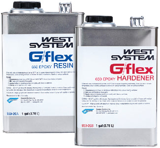West System G/Flex Epoxy 2 Gallon Kit (2ea Gal. cans)