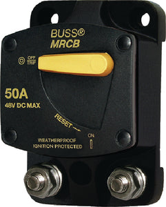 Blue Sea Systems 7136 187 Series DC Circuit Breaker - Surface Mount, 30 Amps