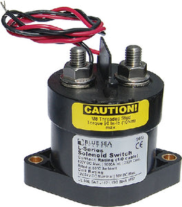 Blue Sea Systems 9012 L Solenoid - 12/24V DC 250A
