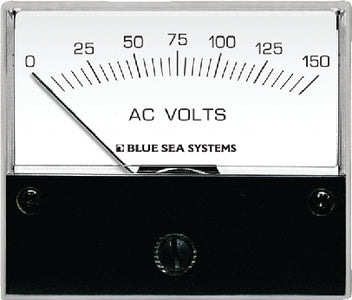 Blue Sea Systems 9353 AC Voltmeter - 0 to 150V AC