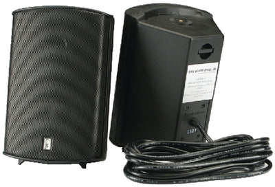 "Poly-Planar MA7500 Waterproof Compact Box Speakers 5-1/8"" x 7-11/16"""" (Sold as Pair)"
