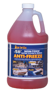 Starbrite -50ªF Non-Toxic Water System & Engine Anti-Freeze, Gal. @6