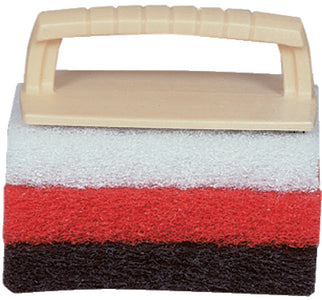 Scrub Pad Kit w/Handle