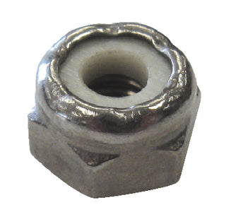 8-32 S/S Lock Nut- 4/Cd