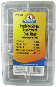 Machine Screw Kit-Oval Head