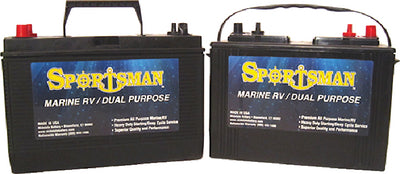 Sportsman Dual Purpose Battery 12V Starting/Cycling
