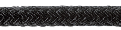 Samson Solid Nylon Braided Dock Line, Black
