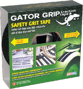 "Life Safe RE160 Gator Grip Anti-Slip Safety Grit Tape 4"" x 60' Black"