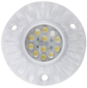 White LED Surface Mount Underwater Light, 2/pk