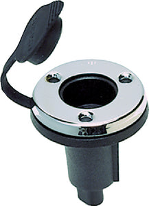 Spare Round Plug-In Base, 2-Pin