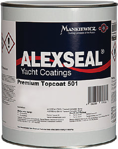 Alexseal Premium Topcoat 501, Light Gray, Qt.