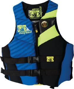 PHANTOM PFD ROYAL/CHARTREUSE L