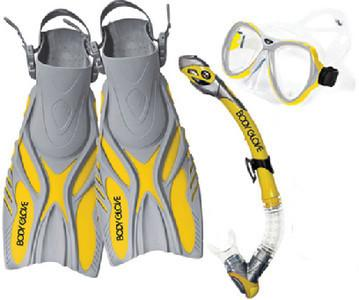 LUCENT XP SET YELLOW L/XL