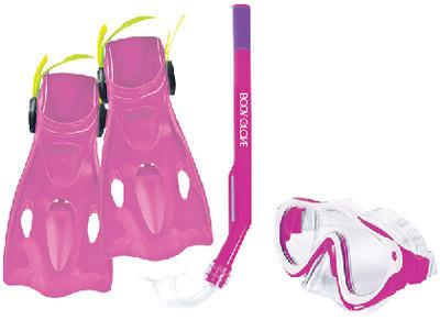 Body Glove Kid's Swell Mask and Snorkel Fin Combo