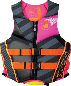 Body Glove Wetsuit Co Women's Phantom Neoprene US Coast Guard Approved PFD Life Jacket