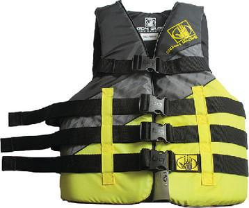 Body Glove Tweedle Pfd Yellow 2xl/3xl 16289-Ylw-2x3x