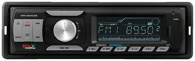 BOSS Audio Systems MR1360UAB Marine Single-DIN Mech-Less Receiver