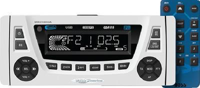 BOSS Audio Systems MR2180UA Marine 1.5-Din CD MP3 Player Receiver