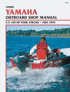 Boating Accessories New Service Manual for Yamaha Outboards 9.9-100HP (1985-99) B788