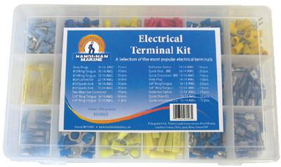 Handi-Man Electrical Terminal Kit - 360 Pieces