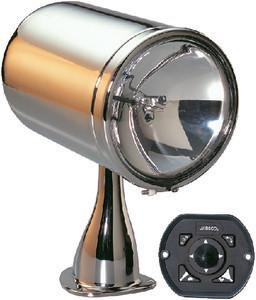 JABSCO 6 CHROME REMOTE CONTROL SEARCHLIGHT 12/24V