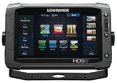 Lowrance 10771-001 Hds-9 Touch Gen 2 - Touchscreen GPS Fish Finder/Chart Plotter