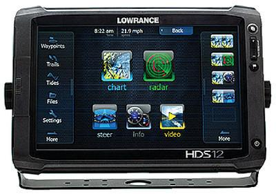 Lowrance 000-10777-001 HDS-12 Gen2 Touch with 12-Inch LCD Touchscreen