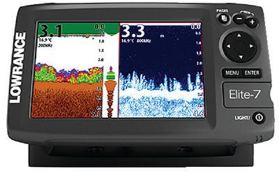 ELITE-7X FISHFINDER NO XDCR