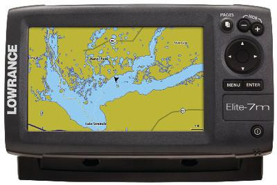 ELITE-7M CHARTPLOTTER GOLD