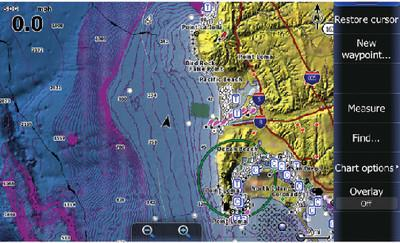 Lowrance Nautic Insight HD West 2013