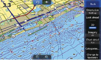 Lowrance 000-11054-001 Nautic Insight Cartographic Device