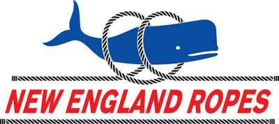 New England Ropes 35300400050 Braided Hank White 1/8 Made by New England Ropes