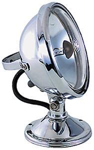 SEARCHLIGHT 12V Chrome Plated DK CNT HAL