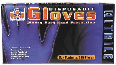 XL NITRILE GLOVES BX(10)