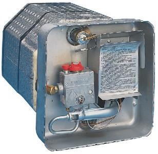 Suburban 5091A Direct Spark Ignition Gas Water Heater - SW4D