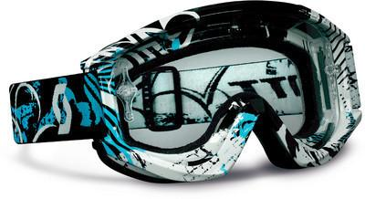 Scott Sports RecoilXi Pro Goggles with Works Clear AFC Lens (Swell Black/Blue
