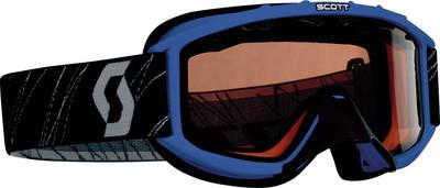 Scott Sports 89Si Youth Snowcross Goggles (Blue Frame/Rose Lens)