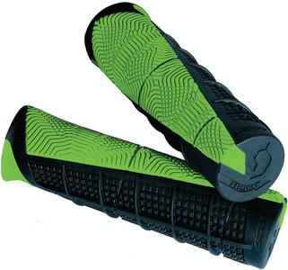 Scott Deuce ATV Hand Grips - Black/Green/One Size