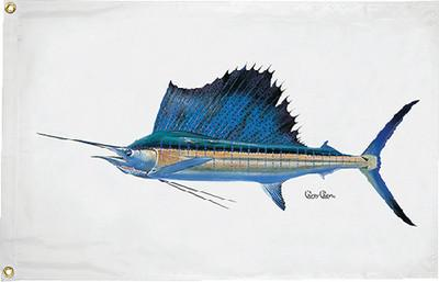 Taylor Made Products 1948 Carey Chen Sailfish Flag