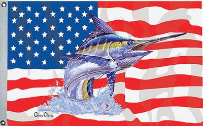 Taylor Made Products 1953 Carey Chen US/Blue Marlin Flag