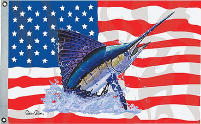 Taylor Made Products 1956 Carey Chen US/Sailfish Flag