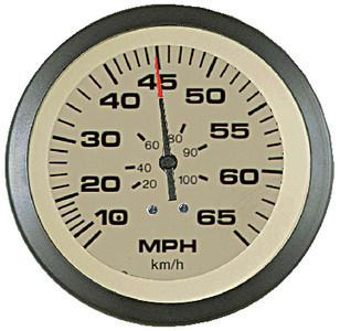Sierra International 59704Ph Sahara Pitot Type 10 to 65 Mph Range Scratch Resistant Speedometer Head
