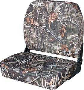 Wise Big Man Max 4 Camo Folding Boat Seat