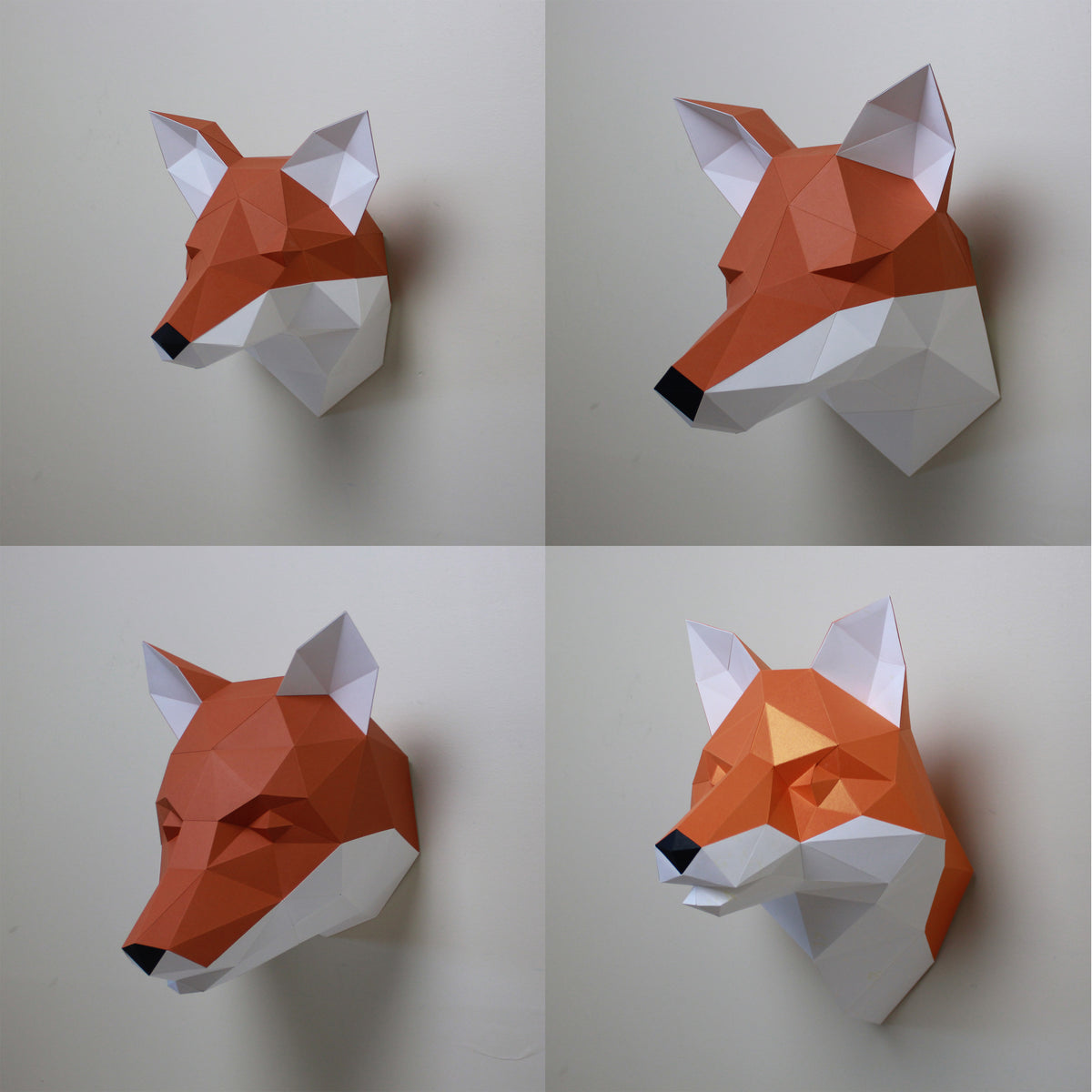 Papercraft Animal Design - A behind the scenes look at Cecilia the Fox