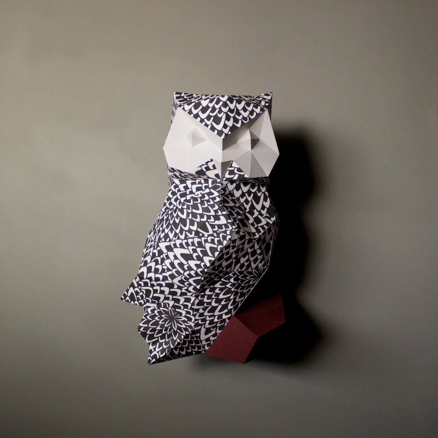 James the Feathered Owl | DIY Papercraft Animal Kit