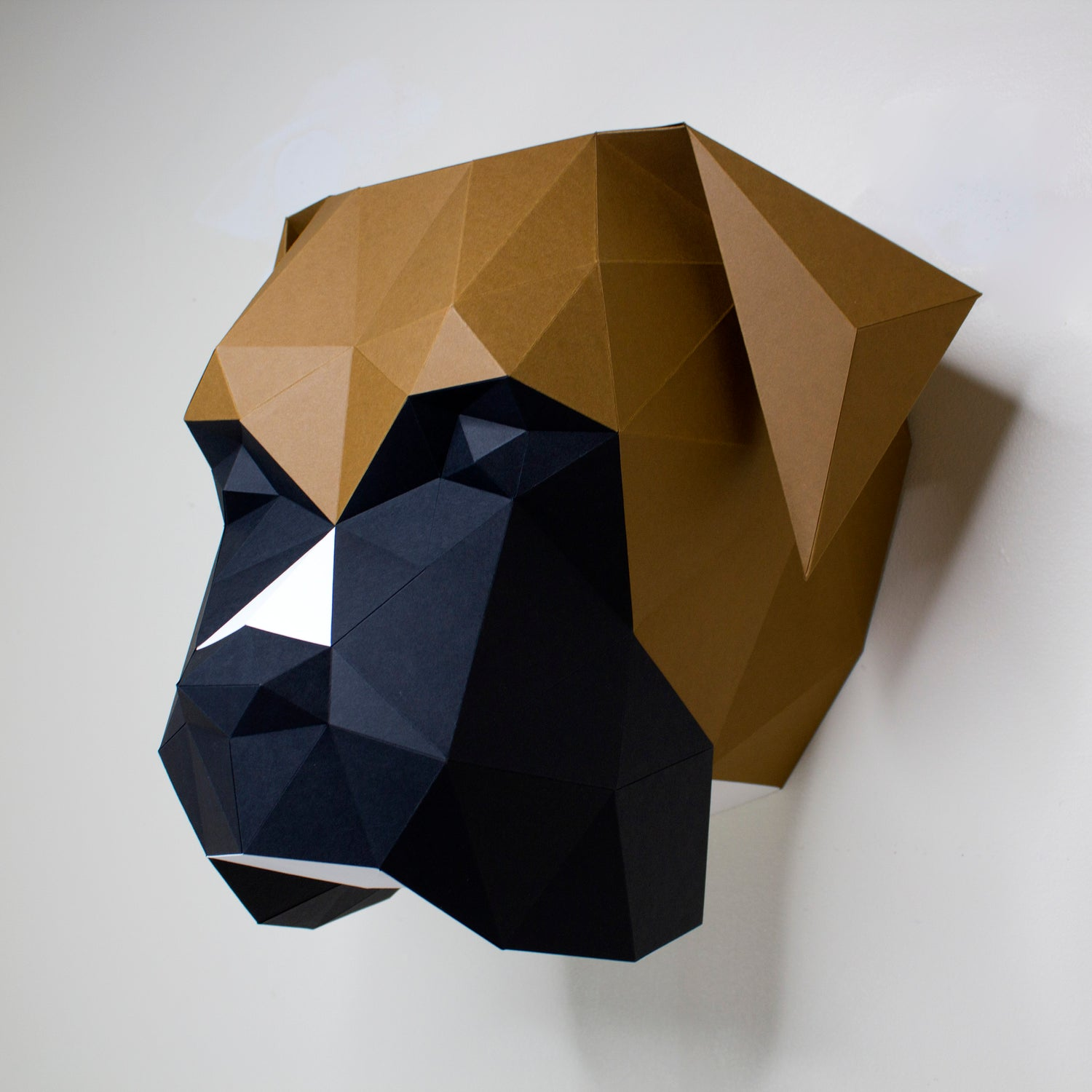 Dog Papercraft Sculpture