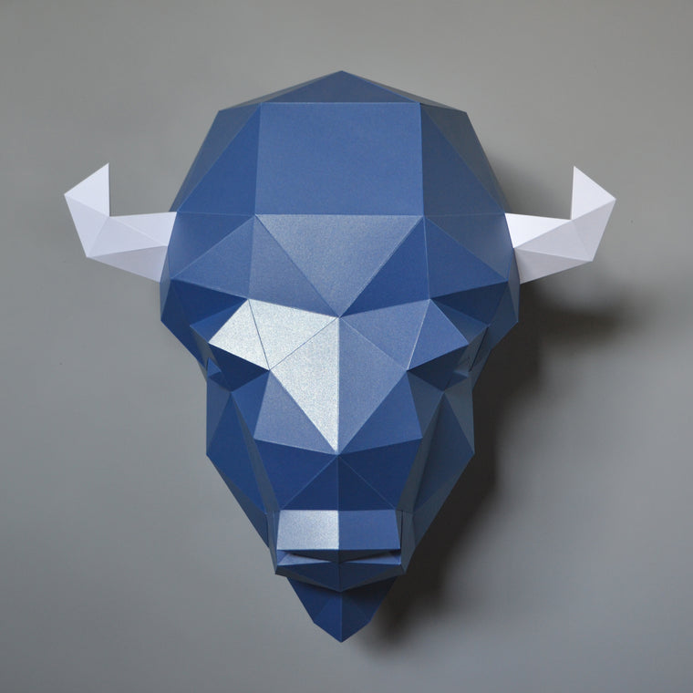 Gabriel the Buffalo | DIY Paper Craft Animal Kit