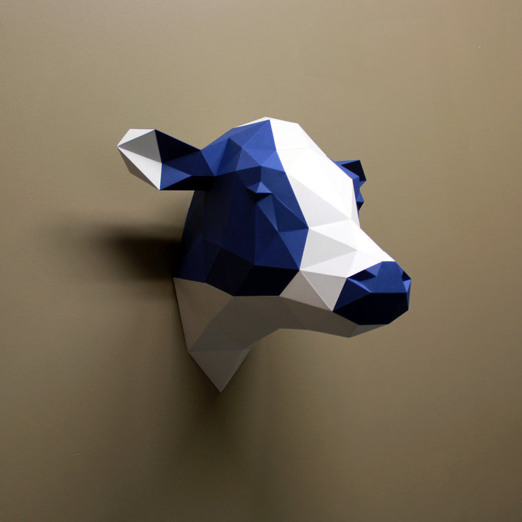 Phoebe the Cow | DIY Papercraft Animal Kit