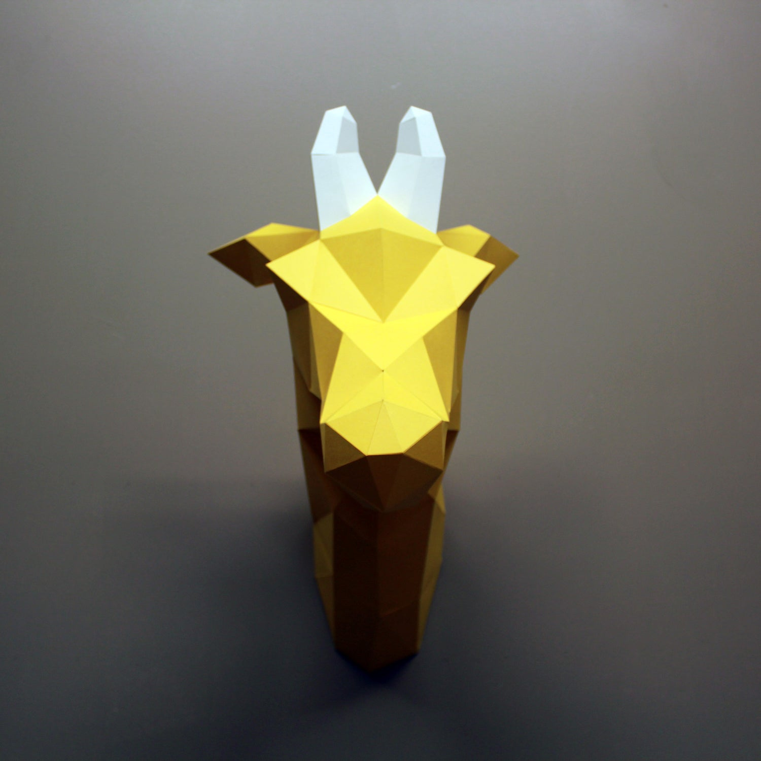 Giraffe DIY Paper Animal Sculpture