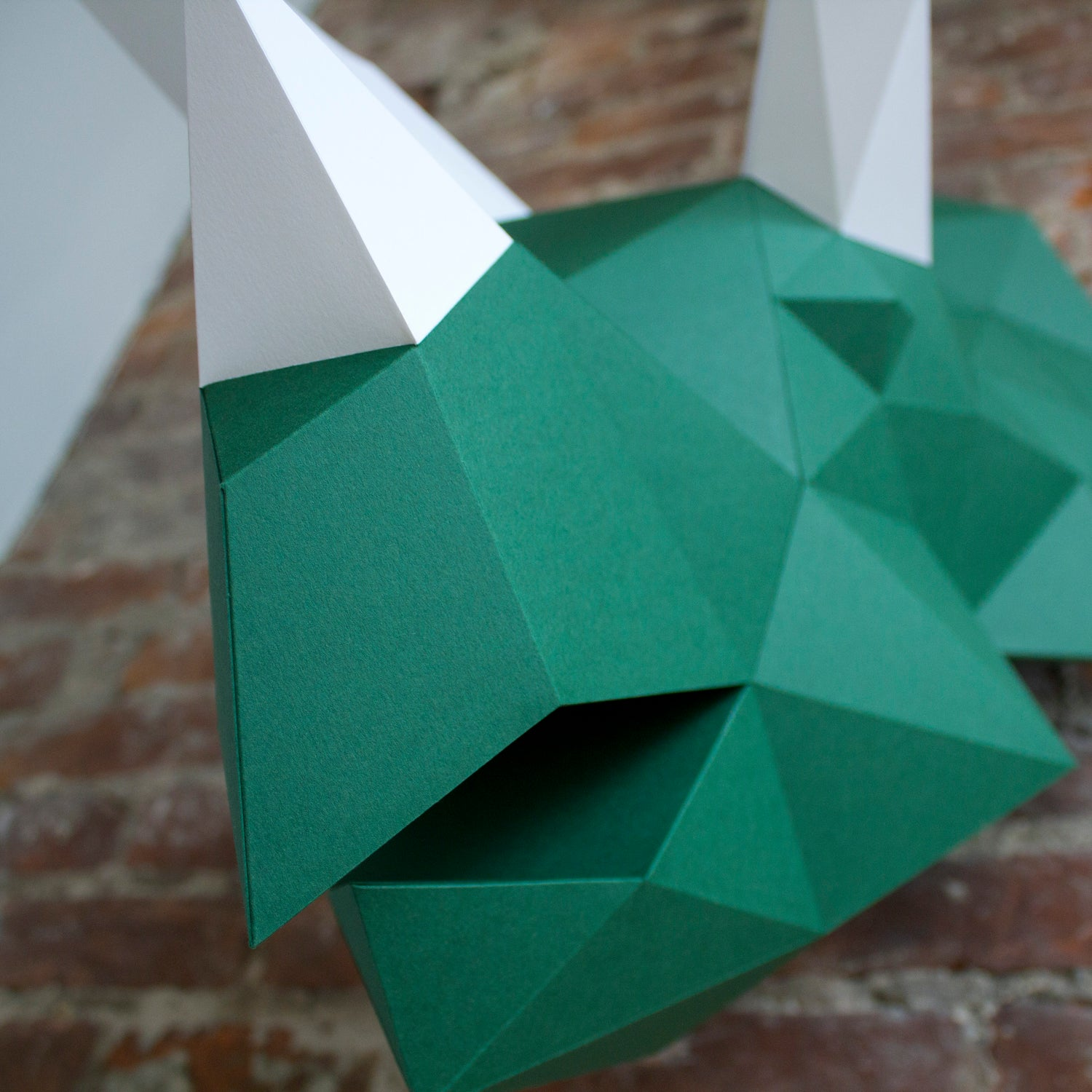 Clark the Triceratops | DIY Paper Craft Animal Kit